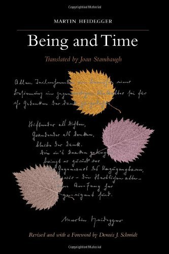 By Martin Heidegger Being and Time: A Revised Edition of the Stambaugh Translation (SUNY series in Contemporary Continental Philosophy) (Revised)