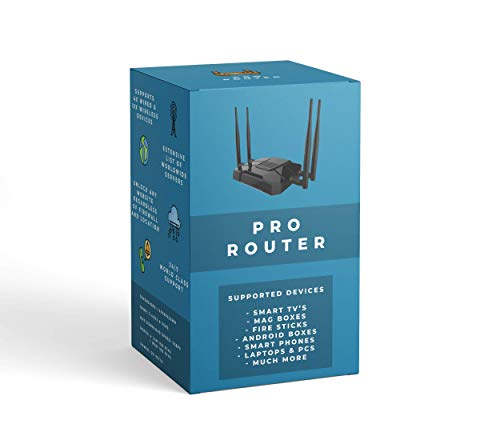 Price comparison product image Spider Pro VPN Router / Privacy & Security / Unblocks blocked websites,  IPTV & More / VPN for Smart TV,  MAG Box,  Firestick,  Android,  iOS & More (24 Months Access)