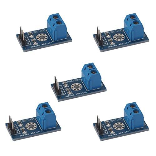 Generic 5Pcs Standard Voltage Sensor Module Test Electronic Bricks For Robot Arduino