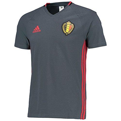 adidas Herren T-shirt RBFA Belgien Trainingsshirt, Boonix/Scarle/Black, L, AC5772