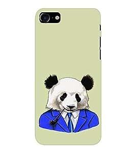 EPICCASE Panda in a suit Mobile Back Case Cover For Apple iPhone 7 (Designer Case)