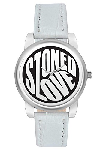 Women's Watch, BigOwl Stoned Love Minimal Designer Analog Wrist Watch For Women - Gifts for her dials