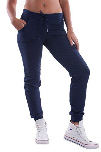 CARLSBERG - Pantaloni in felpa donna con stampa m blu