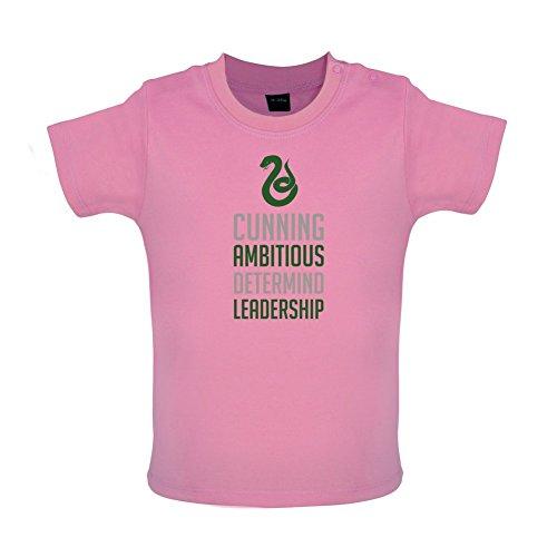 HP House - Schlange - Baby T-Shirt - Bubble-Gum-Pink - 12 bis 18 Monate