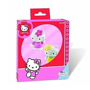 Juratoys - B53401 - Figurineine - Hello Kitty - caja de regalo - Hello Kitty y Mimmy (Importado de Francia)