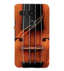 PrintVisa Violin Music Design 3D Hard Polycarbonate Designer Back Case Cover for LG Google Nexus 5X