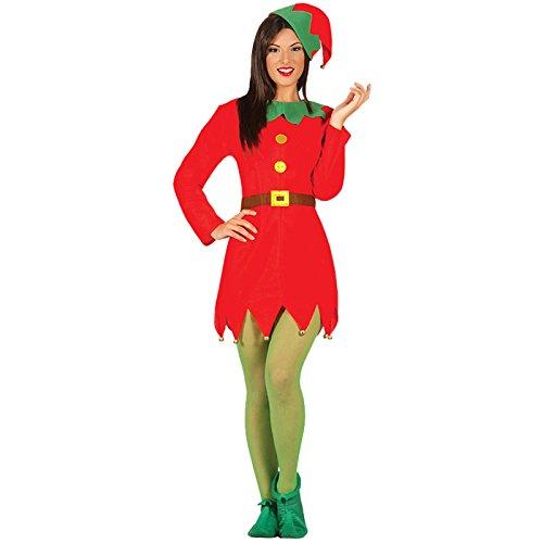 Elf Elf Kostüm Erwachsene Frau Größe L (Elf Kostüm Für Frau)