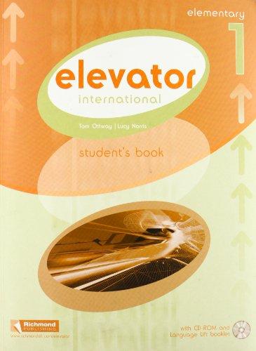 Elevator. Elementary. Student's book-Language lift. Per le Scuole superiori. Con CD-ROM: INTERNATIONAL ELEVATOR 1 STUDENT'S BOOK (Elevator International) - 9788466819480