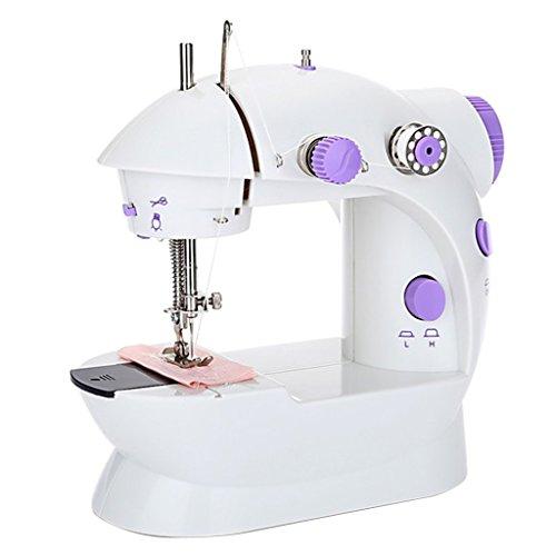 Sharplace Mini Handnähmaschine Nähmaschine schnelle Reparaturen Reise Nähmaschine Nähmaschine Mit Trimmer