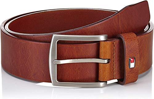 Tommy Hilfiger Herren NEW DENTON BELT 4.0 Gürtel, Braun (DARK TAN-EUR 257), 95 cm (Herstellergröße: 95)