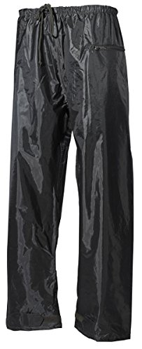 BW Regenhose, Polyester mit PVC oliv S-XXL L L,Oliv