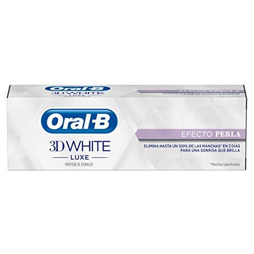 Oral-B 3D Pasta Dentífrica White Luxecon Efecto Perla