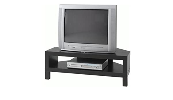 Enjoyable Ikea Lack Corner Tv Stand Black Brown Amazon Co Uk Kitchen Ocoug Best Dining Table And Chair Ideas Images Ocougorg