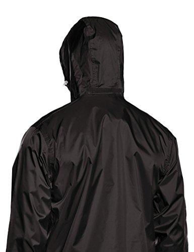 Regatta Herren Pack It II Wasserdichte Jacke schwarz - schwarz