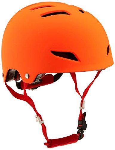 Alpina Kinder Park Junior Fahrradhelm, Orange, 51-55 cm