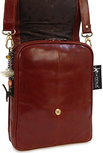 Catwalk Collection Handbags, Borse in Pelle tascapane organiser ,