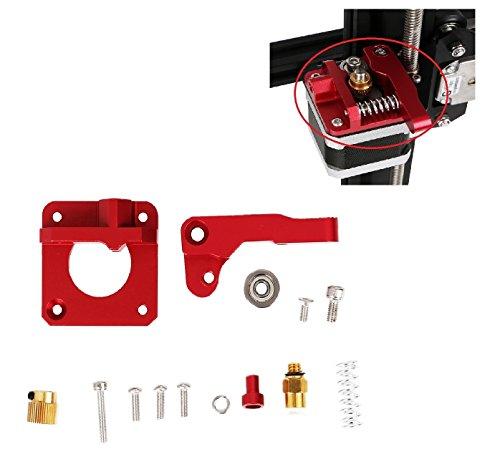Na Licht-kit (Gwisdom CR-10 Extruder Upgrade Ersatz, 3D-Drucker Zubehör, Aluminium MK8 Extruder Drive Feed für Creality CR-10, CR-10S, CR-10 S4, CR-10 S5)