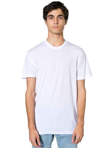 american-apparel-t-shirt-donna-bianco-medium