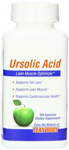 Labrada nutrition ursolic acid lean muscle optimizer capsule-confezione da 120capsule
