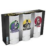 ABYstyle- DC Comics - Set de 3 Verres