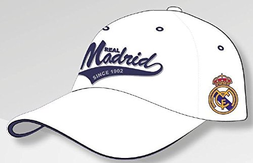GORRA OFICIAL REAL MADRID BLANCA AVANCE TEMP. 17 ADULTO