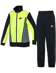 Nike B Nsw Trk Suit Pac Poly - Chándal para niño, color amarillo, talla XL