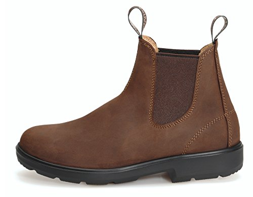 MOONAH Ladies' Town & Country Chelsea Boots Light - Stiefelette für Damen | Ebony / Dunkelbraun Ebony (Dunkelbraun)