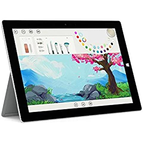 Microsoft Surface 3 LTE - 128GB 128GB 3G 4G Plata - Tablet (Tableta de tamaño completo, IEEE 802.11ac, Windows, Pizarra, Windows 10 Home,