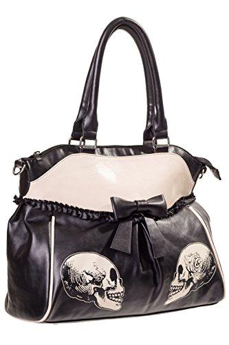 b84b09c79db4c ... Banned Damen Handtasche mit Handschellen-Details