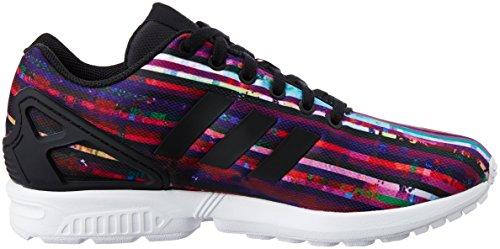 adidas Zx Flux, Sneaker a Collo Basso Uomo Blu (Blu/Rosso/Nero)