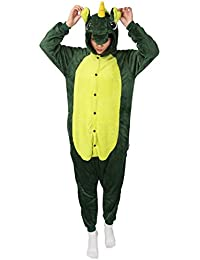 Cosplay Pigiama Animali Unisex Costume Party Halloween Tuta Costumi Flanella Sleepwear S M L XL