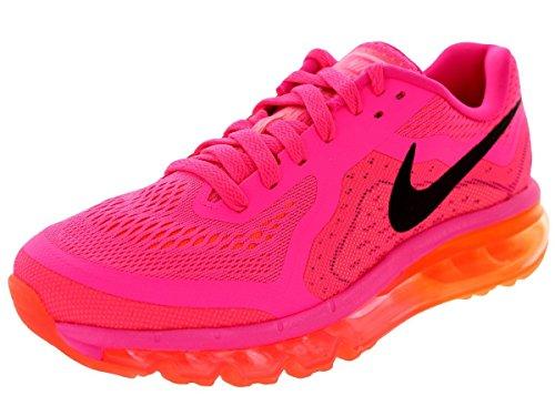NikeAir Max 2014 - Scarpe Running Donna , (- Rose/orange), 38,5