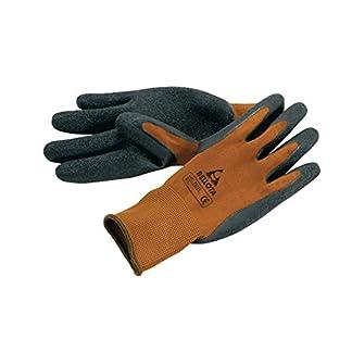 Bellota 75102-8/M – Guante de trabajo para agricultura y jardinería tipo grip, guante de trabajo con máximo agarre