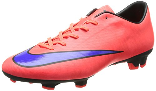 Nike Mercurial Victory V Fg, Football Entrainement Homme Multicolor (Red/Purple)