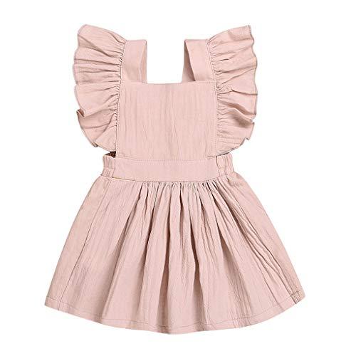 Dchen Sommerkleid Pwtchenty Rüschen Patchwork Dresses for Women Beiläufiges Festzug Verkleidung Outfits Weinachten Faschingskostüm ()