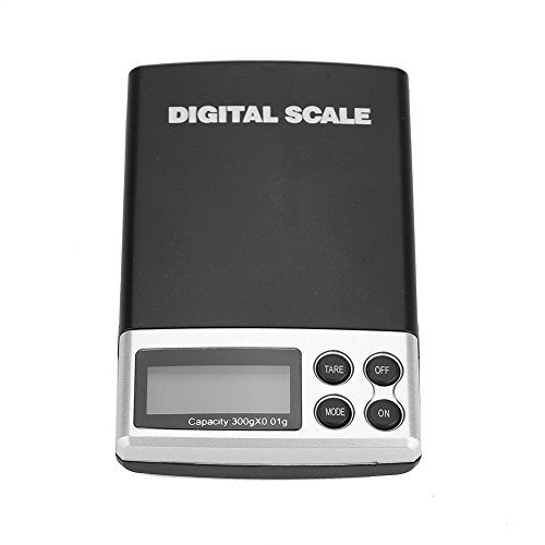 dc8afd5a09e9 GOUPPER Digital Pocket Scale Portable Mini LCD Digital Electronic Pocket  Scale Jewelry Gold Weight Balance Tool(300g/0.01g)