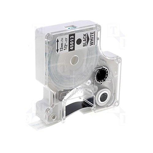 1-compatible-dymo-d1-45013-12mm-x-7m-black-on-white-label-tape-cintas-para-impresoras-de-etiquetas-n