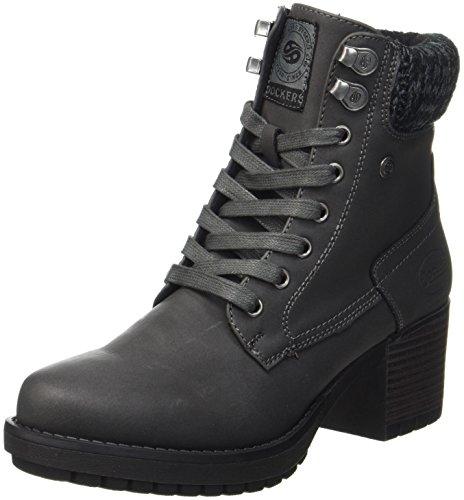 Dockers by Gerli Damen 41CH304-630100 Cowboy Stiefel, Schwarz (Schwarz), 41 EU (Sneaker Cowboy Stiefel)