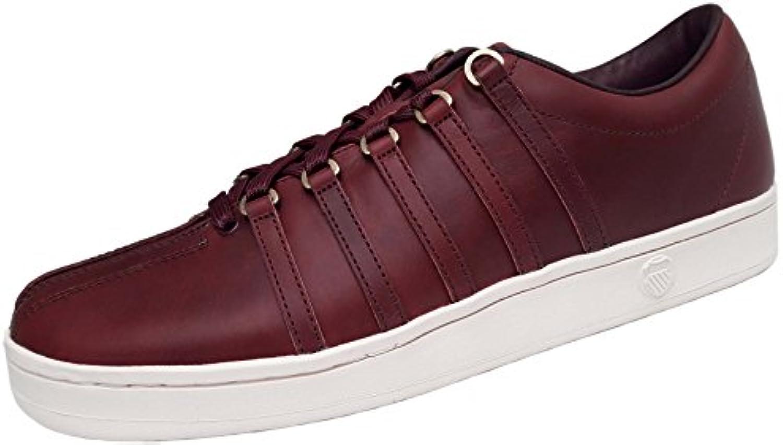 K SWISS Classic 88 Horween Schuhe Herren Echtleder Sneaker Turnschuhe Rot 05045 626