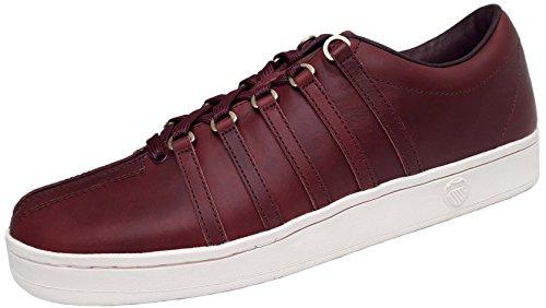 403813e04990f K-Swiss Classic 88 Horween sneaker en cuir rouge hommes 05045-626