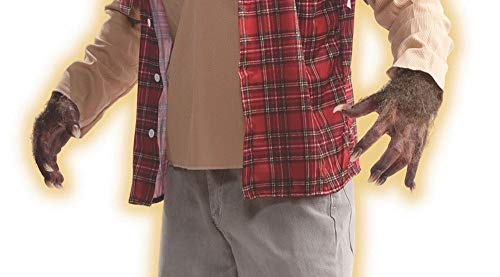 shoperama 10 Werwolf Krallen Finger-Nägel Accessoire Kostüm-Zubehör Hände Hände Klauen