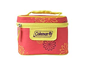Coleman Pink Daisy Insulated Tiffin Box Set, 2 Pieces