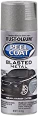 Rust-Oleum 311256 Automotive Peel Coat Blasted Spray Paint (Metal Steel - 312 Grams)