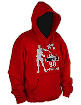 Acokaia Sudadera Niño Fortnite 99 Problems