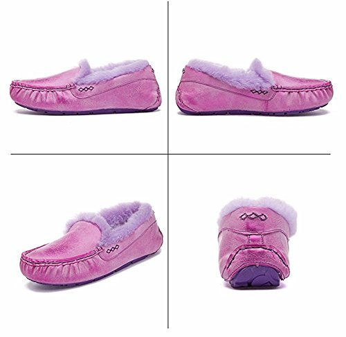 HOMEE Lady S chaussures plates hiver chaud paresseux chaussure 36 Eu
