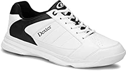 Dexter Ricky Iii Bowling Shoes For Beginners & Professionals Size 38To 47Whiteblack, 10.5