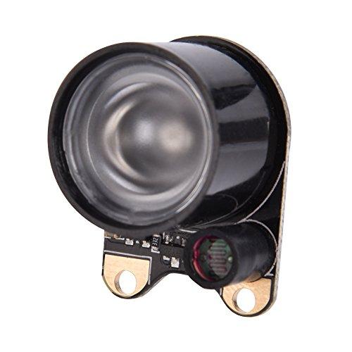 2 Stück Infrarot LED Licht,2PCS 3W High Power IR LED Modul Nachtsicht Kamera LED Light,Nachtsichttaugliches Kamera Modul Infrarot LED Licht für Raspberry Pi Nachtsicht Kamera