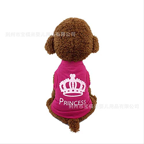 & Kostüm Katze Hunde Queen - ZNHP Kleidung für Haustiere Frühjahr/Sommer Haustier Kleidung Dünn Teddy Drache, Katze VIP Welpen Weste Hund Kleidung Sommer Kleid Dünn Xs Queen of The Crown