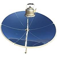 TTLIFE 1.5m diameter 1800W portable parabolic solar cooker with higher efficiency