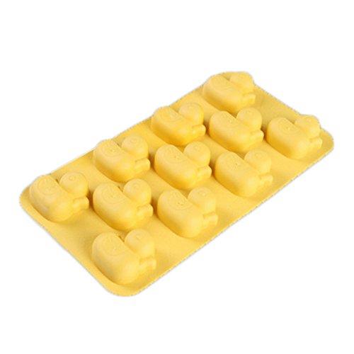 Eiswürfel Fächer Maker Schokoladen Süßigkeit Kuchen-Form Ente-Form (Ente Kuchen-form)